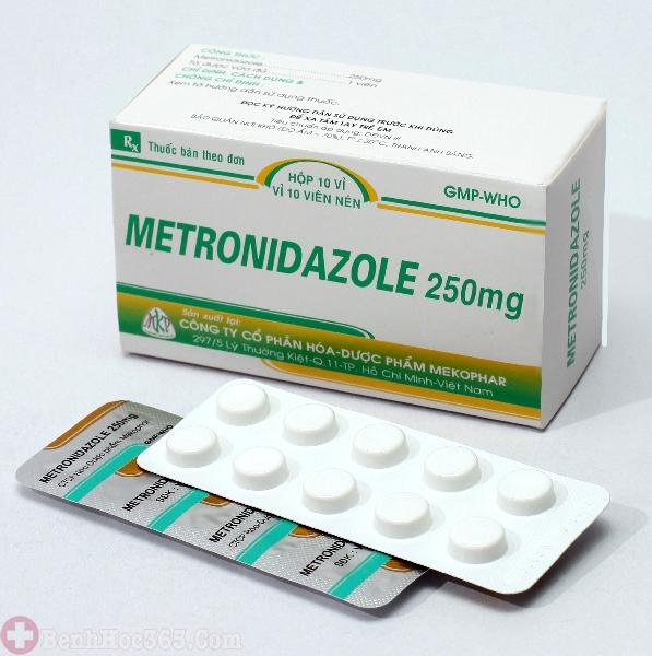 thuốc Metronidazol trị bệnh viêm âm đạo