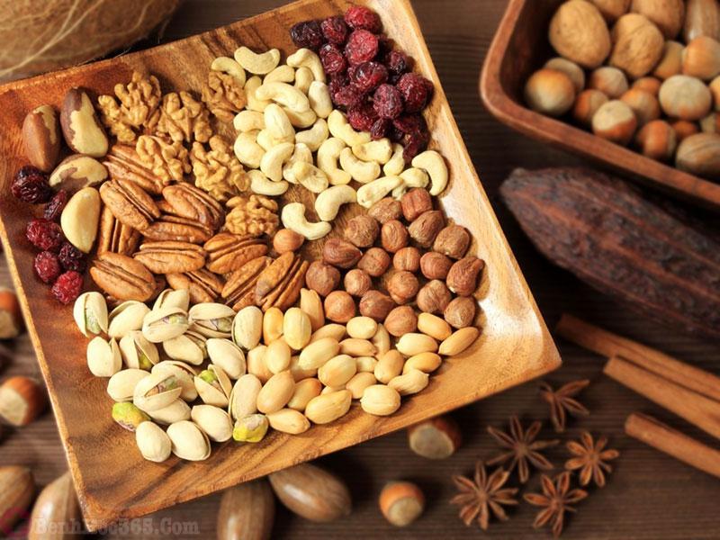 xuất tinh sớm ăn gì - ngũ cốc nguyên hạt