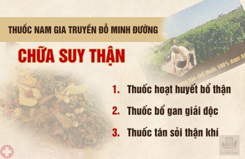 Bác sĩ Nguyễn Tùng Lâm nhà thuốc Đỗ Minh Đường chữa sỏi thận bằng bài thuốc dòng họ Đỗ Minh