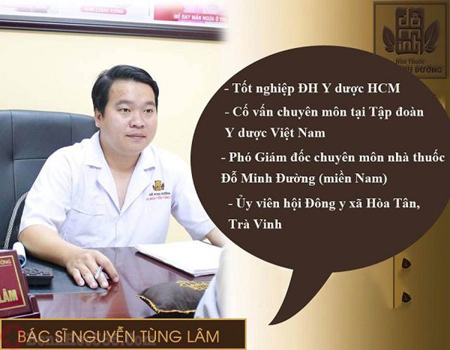 Bác sĩ Nguyễn Tùng Lâm nhà thuốc Đỗ Minh Đường chữa suy thận cho mọi người