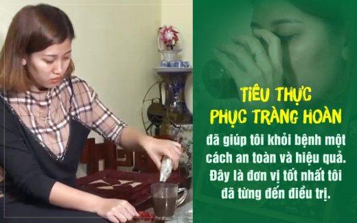 Chị Tuyền chia sẻ về bài thuốc Tiêu thực Phục tràng hoàn