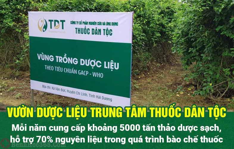 Trung tâm Thuốc dân tộc tự chủ nguồn dược liệu sạch