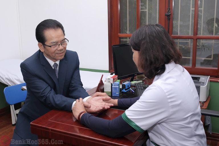 NS Trần Nhượng từng khám chữa dạ dày tại Trung tâm Thuốc dân tộc