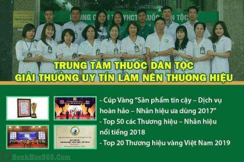 Những giải thưởng và danh hiệu mà Trung tâm Thuốc dân tộc đã đạt được