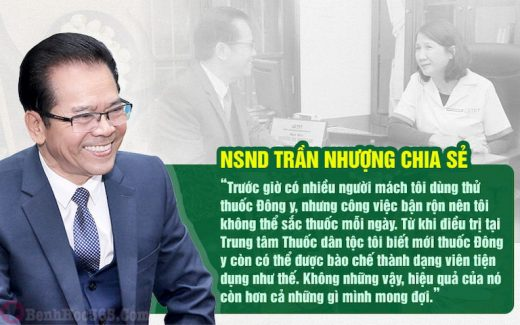 Chia sẻ của NS Trần Nhượng