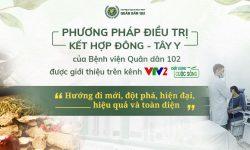 VTV2 Chất lượng cuộc sống đánh giá cao phương pháp hỗ trợ điều trị viêm da dầu