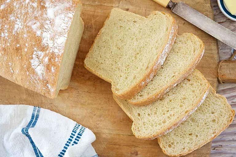 Phần tinh bột trong bánh mì có khả năng giảm tiết axit dạ dày